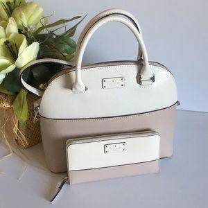Kate spade ♠️ Carli street satchel with Wallet